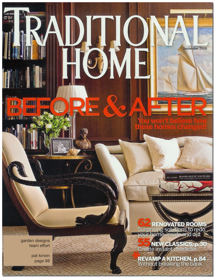 Traditional Home Magazine - Patrick Kirwin